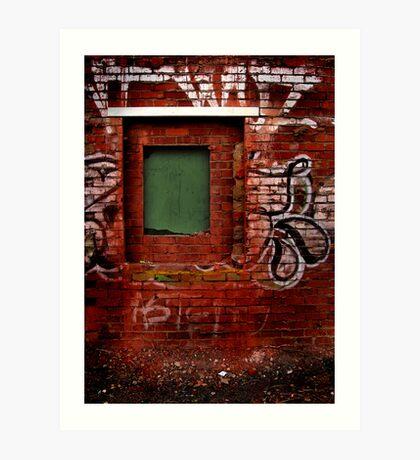 Window to Nowhere Art Print