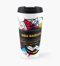 MBA BABSON Travel Mug
