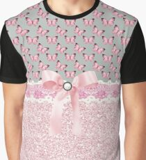 Bling and Butterflies Graphic T-Shirt