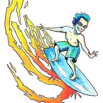 SHRED Surfer by jackdcurleo