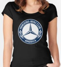 Mercedes Benz Club of America MBCA Women's Fitted Scoop T-Shirt