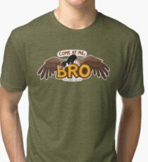 """Come at me BRO"" Canada Goose Tri-blend T-Shirt"