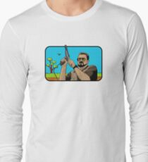 Duck hunting on Shabbos (Digital Duesday #1) Long Sleeve T-Shirt