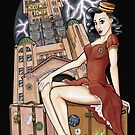 Tower of Terror Pinup by Jeremy Kohrs