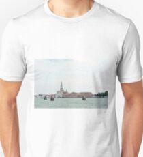 6 June 2017 San Giorgio Maggiore island in Venice, Italy, seen from the water T-Shirt