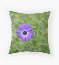 Purple Distinction Throw Pillow