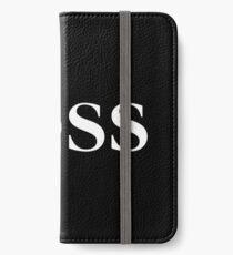 BOSS iPhone Wallet/Case/Skin