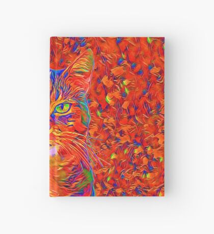 Red Cat Hardcover Journal