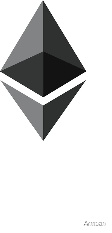 Quot Ethereum Logo Quot Stickers By Armaan Redbubble