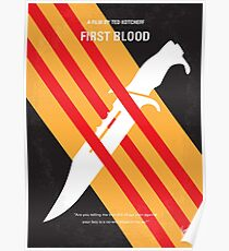 No288- Rambo minimal movie poster Poster