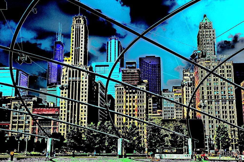 CHICAGO - MILLENNIUM PARK by DRON