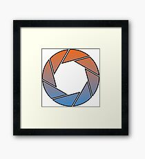 Portal- Aperture Science Gradient Framed Print