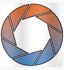 Portal- Aperture Science Gradient Poster
