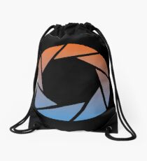 Portal- Aperture Science Gradient Drawstring Bag