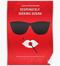 No336- desperately seeking susan minimal movie poster Poster