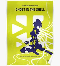 No366- Ghost in the Shell minimal movie poster Poster