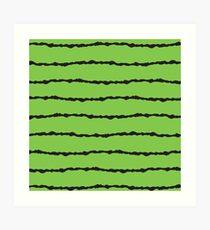 Wire & Grass Art Print
