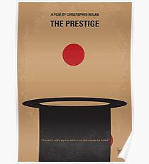 No381- The Prestige minimal movie poster Poster