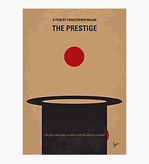No381- The Prestige minimal movie poster Photographic Print