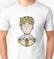 One Punch Man Flower Crown T-Shirt