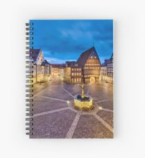 Historic old city of Hildesheim, Germany Spiral Notebook