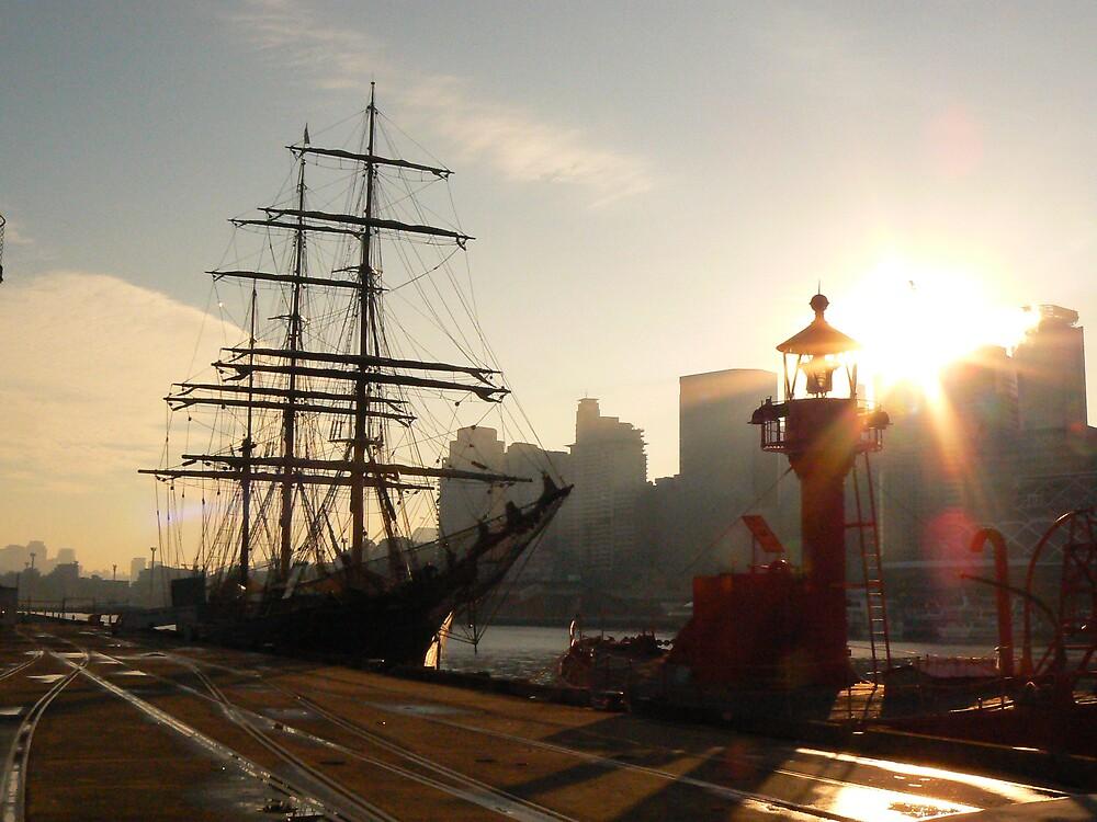 Early Morning Sydney by adelethomas