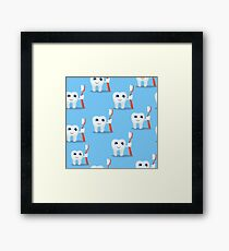 Miss Tooth Framed Print