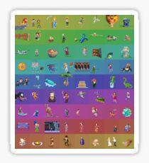 Pixel Dailies Collection Sticker