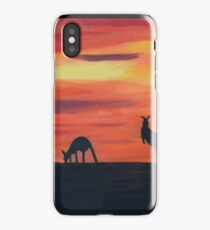 Roos on the horizon iPhone Case/Skin