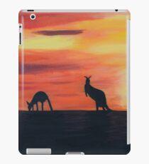 Roos on the horizon iPad Case/Skin