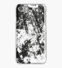 Black & White Grunge Design iPhone Case/Skin