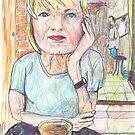 Kari at Poppi's by John Douglas