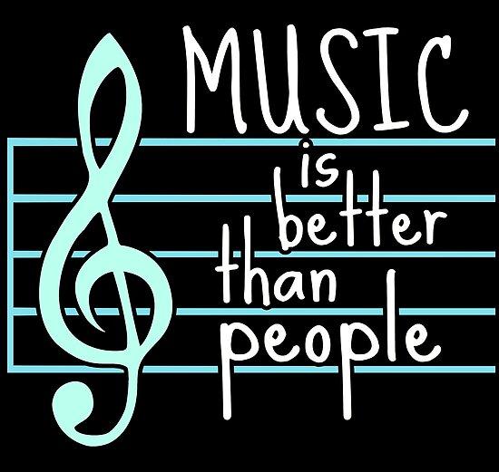 music is better than people #4 by FandomizedRose