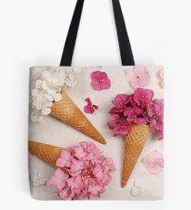 Floral ice creams Tote Bag
