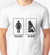 Your Wife My Wife Wonder Women Merchandise T-Shirt