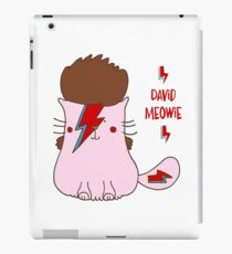 David Meowie iPad Case/Skin