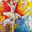 Ballet Dancer Swan Lake von Diana Linsse