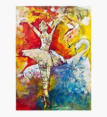 Ballet Dancer Swan Lake Photographic Print