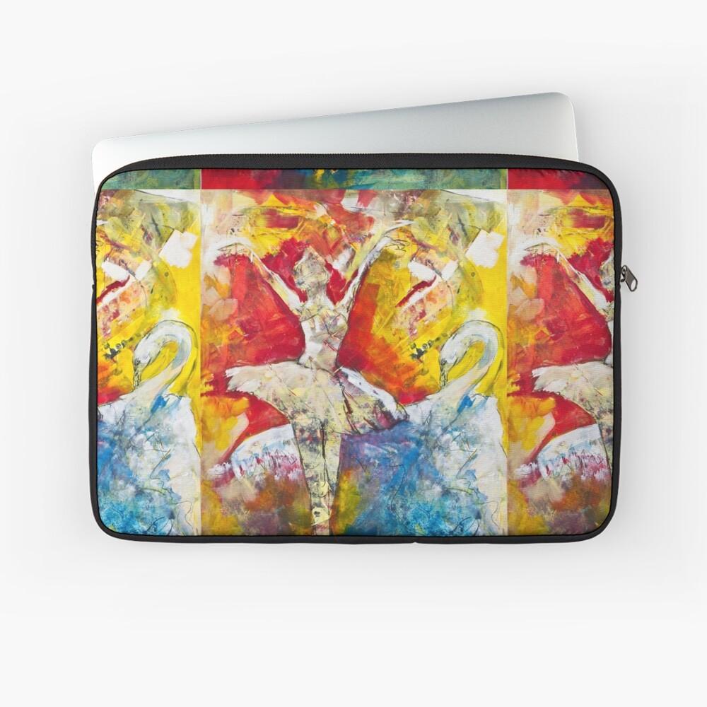 Ballet Dancer Swan Lake Laptoptasche
