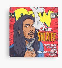 Reggae's Got Soul #1 I Shot The Sheriff Canvas Print