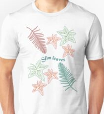 leaves for fahion line T-Shirt