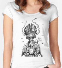 The Ghost in the Machine Women's Fitted Scoop T-Shirt