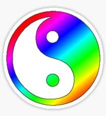 Flamboyant Jing-Jang Sticker