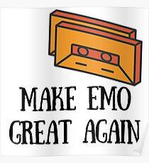 Make Emo Great Again! Poster