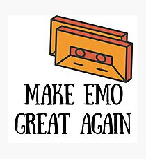 Make Emo Great Again! Photographic Print