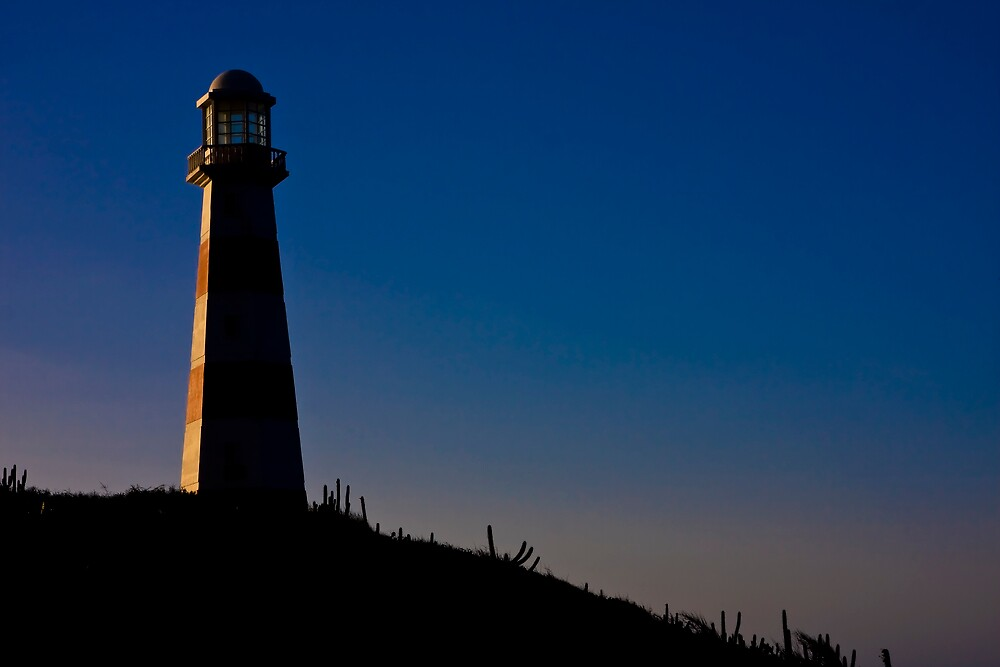 El Faro - The Lighthouse by Peter Ede