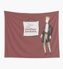 Fine Leather Jackets Wall Tapestry