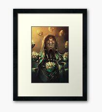 Dark zen Framed Print