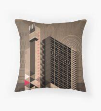 Trellick Tower Throw Pillow