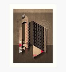 Trellick Tower Art Print
